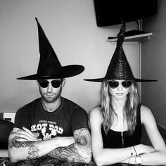 Behati Prinsloo and Adam Levine Cutest Moments Pictures | POPSUGAR Celebrity