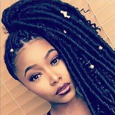 Box Braids Hairstyles, Protective Hairstyles, Protective Styles, Hairstyle Ideas, Hairstyle Braid, Hair Ideas, Black Girl Braids, Girls Braids, Twist Box Braids