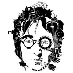 What a great design challenge! John Lennon