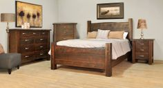 Joinery House | Live Edge Bedroom Collection