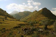 kosovo landscape, national park sharr mountains