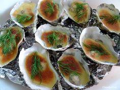 Le blog de Clementine: Huîtres gratinées au sabayon de champagne