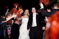 Auburn shakers leaving the reception. Why can't Stephen be an Auburn fan too?!? :(