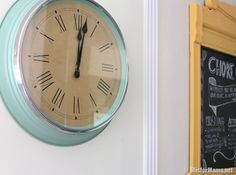 SKOVEL Wall Clock IKEA saw this today I LOVE it Home Decor