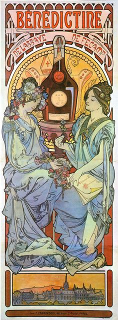 Alfons Mucha's Art Nouveau Works A selection of 130 Mucha's decorative paintings, illustrations, posters and advertisements, most from his Art Nouveau Parisian period (although he didn&…