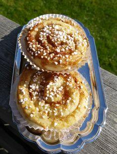 Laktos och glutenfria kanelbullar