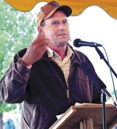 """George Siemon told Common Ground Country Fair goers on Sunday that cooperatives are """"here to serve a community. Common Ground Fair, Life"""