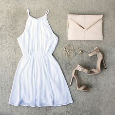 Stock up on #SummerStyles while ALL dresses are up to 50% off! #LightAndAiry #WhiteHot #OOTD