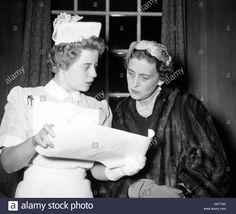 Royalty - Princess Margarita of Baden - St Thomas's Hospital - London - Stock Image Florence Nightingale, Vintage Nurse, St Thomas, Nursing Students, Margarita, Royalty, The Past, Descendants, Stock Photos