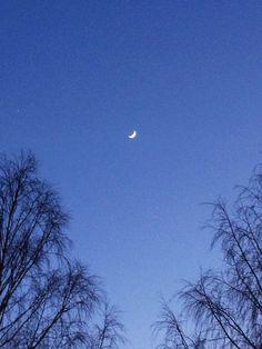 Scandinavian Moon  (taken with iPhone4S)