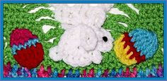 Ravelry: Easter Appliques Crochet Pattern pattern by Chelsea Craft