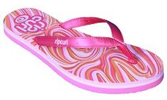 RIPCURL GIRL Rip Curl Optical Flip Flops Colour: Pink Design The Rip Curl Optical Flip Flops have a silky smooth fabric strap and a thick soft footbed with a tough sole. http://www.comparestoreprices.co.uk/womens-shoes/ripcurl-girl-rip-curl-optical-flip-flops.asp