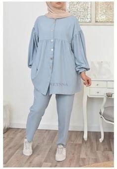Modest Fashion Hijab, Modesty Fashion, Modern Hijab Fashion, Muslim Fashion, Modest Outfits Muslim, Fashion Muslimah, Mode Outfits, Fashion Outfits, New Hijab Style
