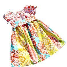 "Peasant Dress Pattern, Girls Dress Pattern, Sewing Patterns, PDF Sewing Pattern, Easy Sewing PDF Patterns, Girl, Baby Pattern ""Hailey Dress""..."