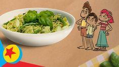 Pesto Pasta Recipes, Pesto Recipe, Fun Songs, Guacamole, Pixar, Disney, Favorite Recipes, Cooking, Ethnic Recipes