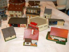 N Scale Buildings, Scenery, Gift Wrapping, Paper, Gift Wrapping Paper, Landscape, Paisajes, Gift Packaging, Lugares