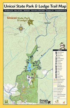 Unicoi State Park Lake Trail