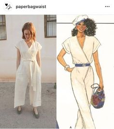 Vintage Wrap Jumpsuit | Thread Snips