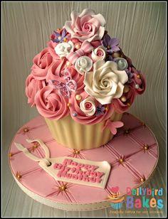 pretty giant cupcakes - Google Search