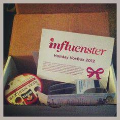 Holiday #vobox from @influenster <3