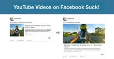 Make your YouTube links awesome on Facebook!