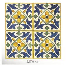 italian hanf-made maiolica tiles italian handmade majolica Ceramics tiles