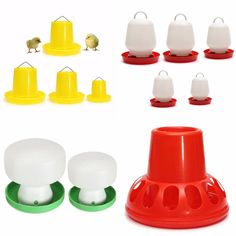 Decription: Pet Feeder Drinker Poultry Chick Hen Chicken Waterer Drinker Farm Tool  Unsealed design of the top, easy to add water and clean.  Made from durable plastic, affordable price is very economical to buy.  suitabale for chickens, birds, ducks, geese, rabbits and so...