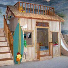 Beach shack bunkbed