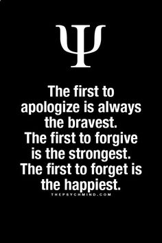 Fun Psychology facts here!... guess im the bravest and strongest but ill never be the happiest bc i never truly give up and just forget