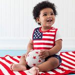 Fourth of July Baby Outfits: Born in the USA.