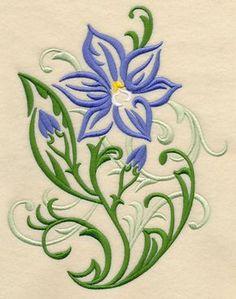 Sun Orchid Filigree