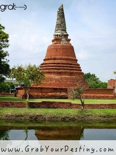 """Only hard work, dedication and determination can get you to the next level in life and business."" Temples and City of Ayutthaya - Phra Nakhon Si Ayutthaya #Thailand #Ayutthaya #DigitalNomad #Laptoplifestyle #Travel #Entrepreneurs #Business #Lifestyle #Inspire #Success #Freedom #Wealth #Leadership #JasonAndMichelleRanaldi #GrabYourDestiny #OnlineBusiness #Marketing #Hustle #Quotes #Mindset #AffiliateMarketing #LocationIndependent #StartUp #ResidualIncome #Purpose #WorkAtHome #Family #Friends"
