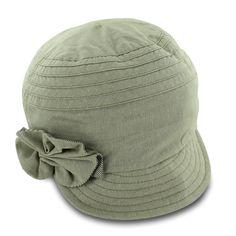 Cute hat! Betmar Denise - Classic Cotton Mod Cap - Hatsinthebelfry.com