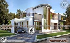 Kerala House Plans and Designs with Two Story Small House Floor Plans Having 2 Total Bedroom, 4 Total Bathroom, and Ground Floor Area is 1260 sq ft, First Floors Area is 927 sq ft, Hence Total Area is 2367 sq ft Beautiful House Plans, Beautiful Small Homes, Beautiful Home Designs, House Plans With Pictures, House Design Pictures, Small House Floor Plans, Simple House Plans, Best Small House Designs, Three Bedroom House Plan