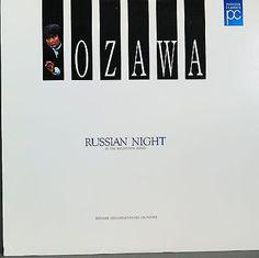 Seiji Ozawa - Russian Night at the Waldbuhne Berlin; Berlin Philharm; Laserdisc