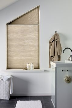 beige duette energy saving blinds neutral bathroom blinds neutral colour inspiration for decorating