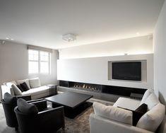 "Minimalist Apartment Design: ""A,"" Duinbergen, by Dennis T'Jampens"