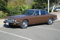 Brown Jaguar XJ6