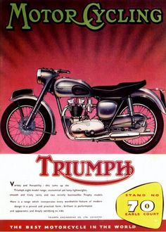 Motorcycling on a Triumph