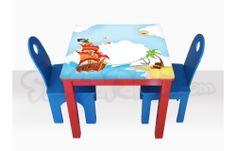 Mesa para niñi por Sinsalabín