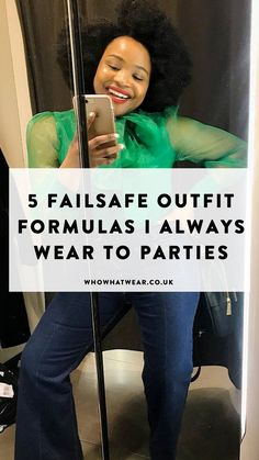 From mega suits to perfect party dresses, these are the failsafe outfit formulas I always wear to dinner Simple Outfits, Casual Outfits, Down Suit, Party Dresses, Party Outfits, High Waisted Flares, Black Headband, Slogan Tee, Going Out Dresses