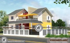 Urban House Plans Narrow Lot with Design Of Two Story House Floor Plans Two Storey House Plans, Free House Plans, Narrow Lot House Plans, 2 Storey House Design, Duplex House Plans, Bungalow House Plans, Luxury House Plans, Small House Design, Modern House Plans