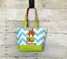Zootopia Kids Tote Bag/ Zootopia Lunch Bag/ Nick Wilde Kids Tote Bag/ Toddler tote bag/ Kids tote bag/ Child tote bag by CreativeBagsForKids on Etsy