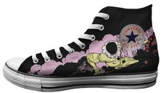 Converse Chuck Taylor All Star Hi Top Bob Masse Doors Poster | Mens | Converse Shoes | Baggins Shoes | Buy Online