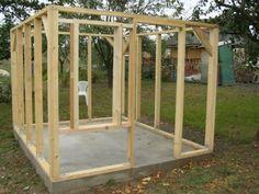Kerti faház építése még sosem volt ennyire egyszerű! - Friss - Kert Cottage, Outdoor Structures, Ducks, Garden, Diy, Furniture, Bathroom, Animals, Home Decor