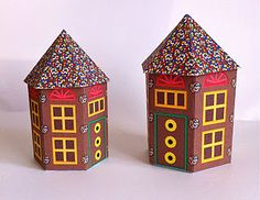 Gingerbread house printables.  Very talented artist.