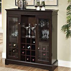 Muskoka Yates Wine Cabinet