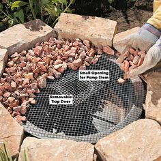 Build This Soothing Fountain in an Afternoon — The Family Handyman Inexpensive. simple to build and a great place for the neighborhood birds to freshen up! Diy Water Feature, Backyard Water Feature, Ponds Backyard, Backyard Landscaping, Backyard Waterfalls, Garden Ponds, Koi Ponds, Diy Water Fountain, Garden Water Fountains