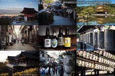 KYOTO - Kiyomizu-dera all'alba e al tramonto, un giro in bicicletta a nord di Kyoto per visitare il famoso padiglione d'oro.