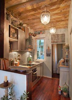 Parisian kitchen.